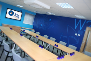 One of the excellent meeting rooms available at open space meeting rooms in malvern, worcester, worcestershire