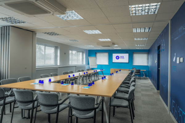 large conference room at open space nearby worcester